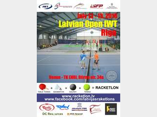 IWT Latvian Open 2018 welcome